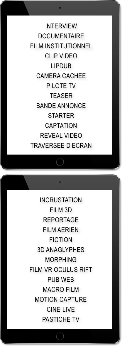 Concept Cut ipads